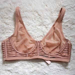 Victoria's Secret nude strappy bra 36c